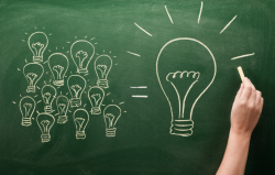 When you fuse a number of smaller ideas together, you can come up with a much bigger idea.